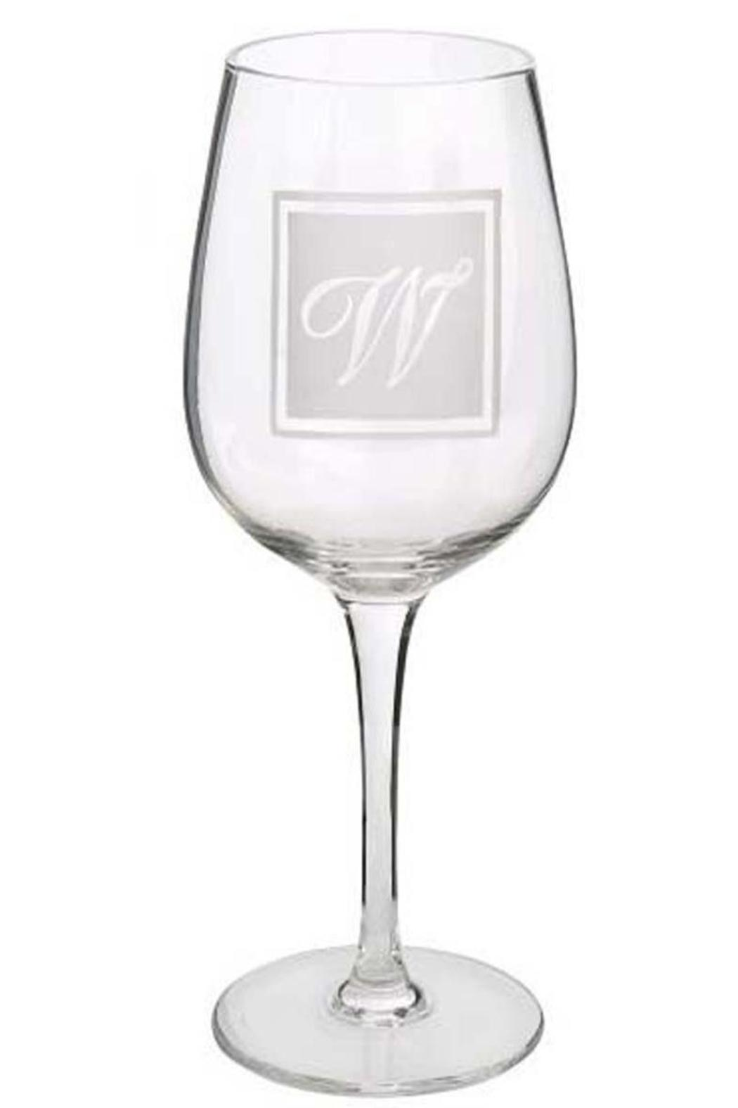 Ganz Initial Wine-Glass W - Front Cropped Image