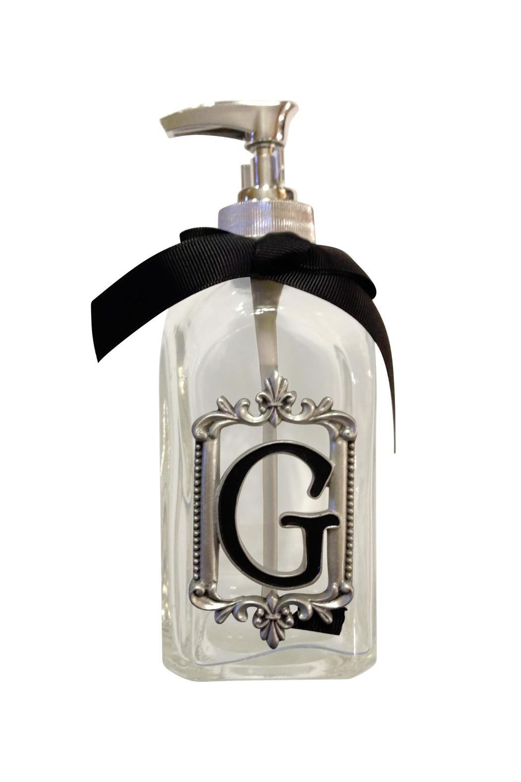 Ganz Intial Soap Dispenser - Front Cropped Image
