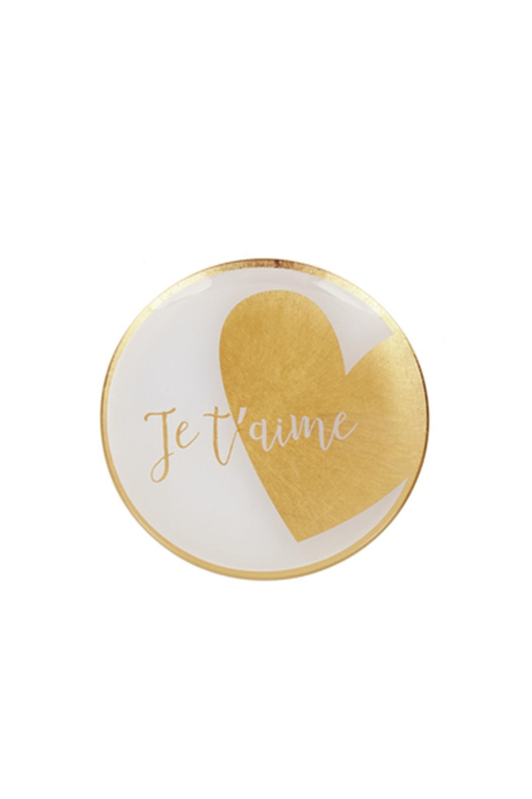 Ganz Jet'aime Wedding Tray - Front Cropped Image