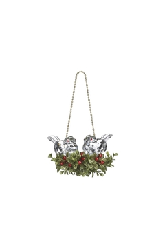 Shoptiques Product: Kissing Krystal Lovebirds