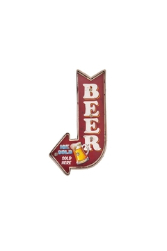Shoptiques Product: Light-Up Beer Sign