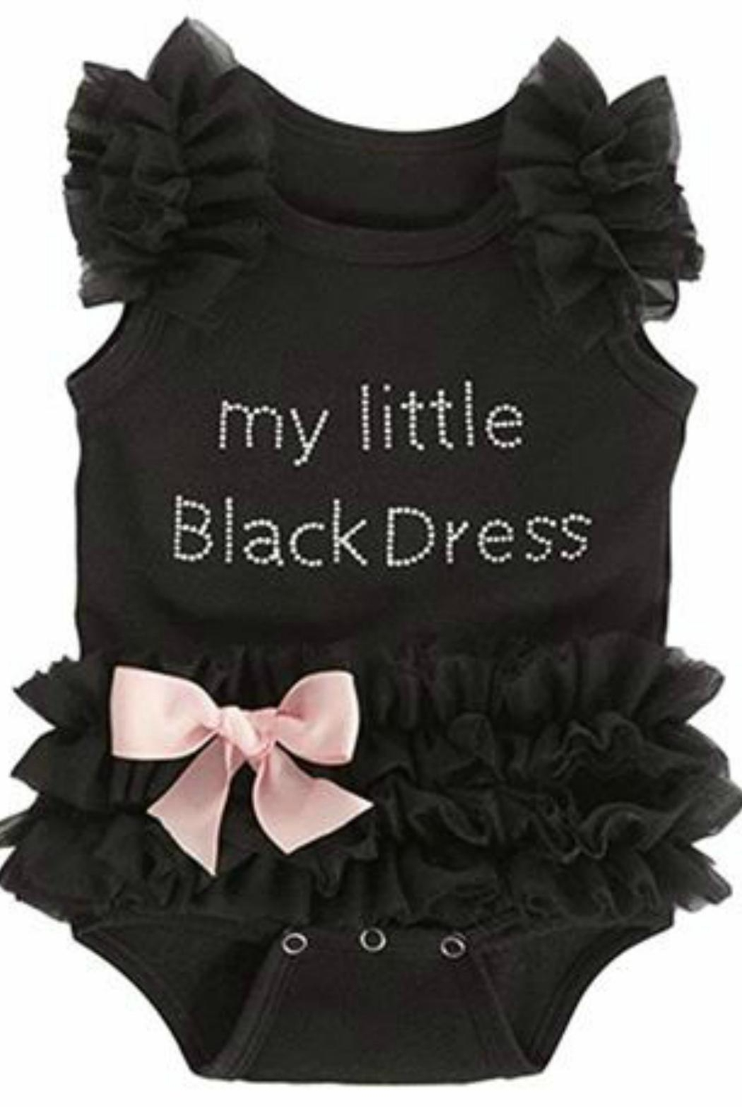 Ganz Little-Black-Dress Onsie - Front Cropped Image