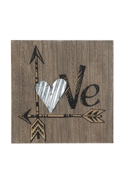Ganz Love Heart Sign - Product Mini Image