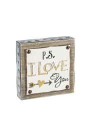 Ganz Love You Plaque - Product Mini Image