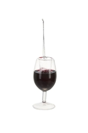 Ganz Merry Merlot Ornament - Front cropped