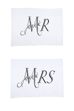 Ganz Mr./Mrs. Pillowcase Set - Alternate List Image