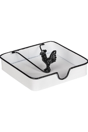 Ganz Napkin Holder W/rooster - Product Mini Image