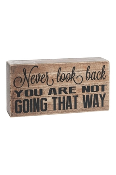 Shoptiques Product: Never Look Back Box