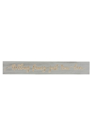 Ganz Nothing Fancy Plaque - Product Mini Image