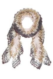 Ganz Open Knit Scarf - Product Mini Image