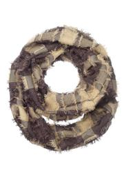 Ganz Patchwork Infinity Scarf - Product Mini Image
