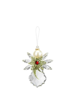 Ganz Pearl Angel Ornament - Alternate List Image