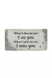 Ganz Pet Memorial Two Stone - Product Mini Image