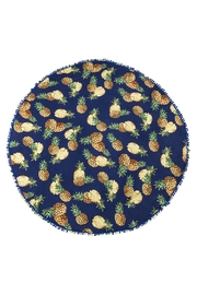 Ganz Pineapple Wrap Scarf - Front cropped