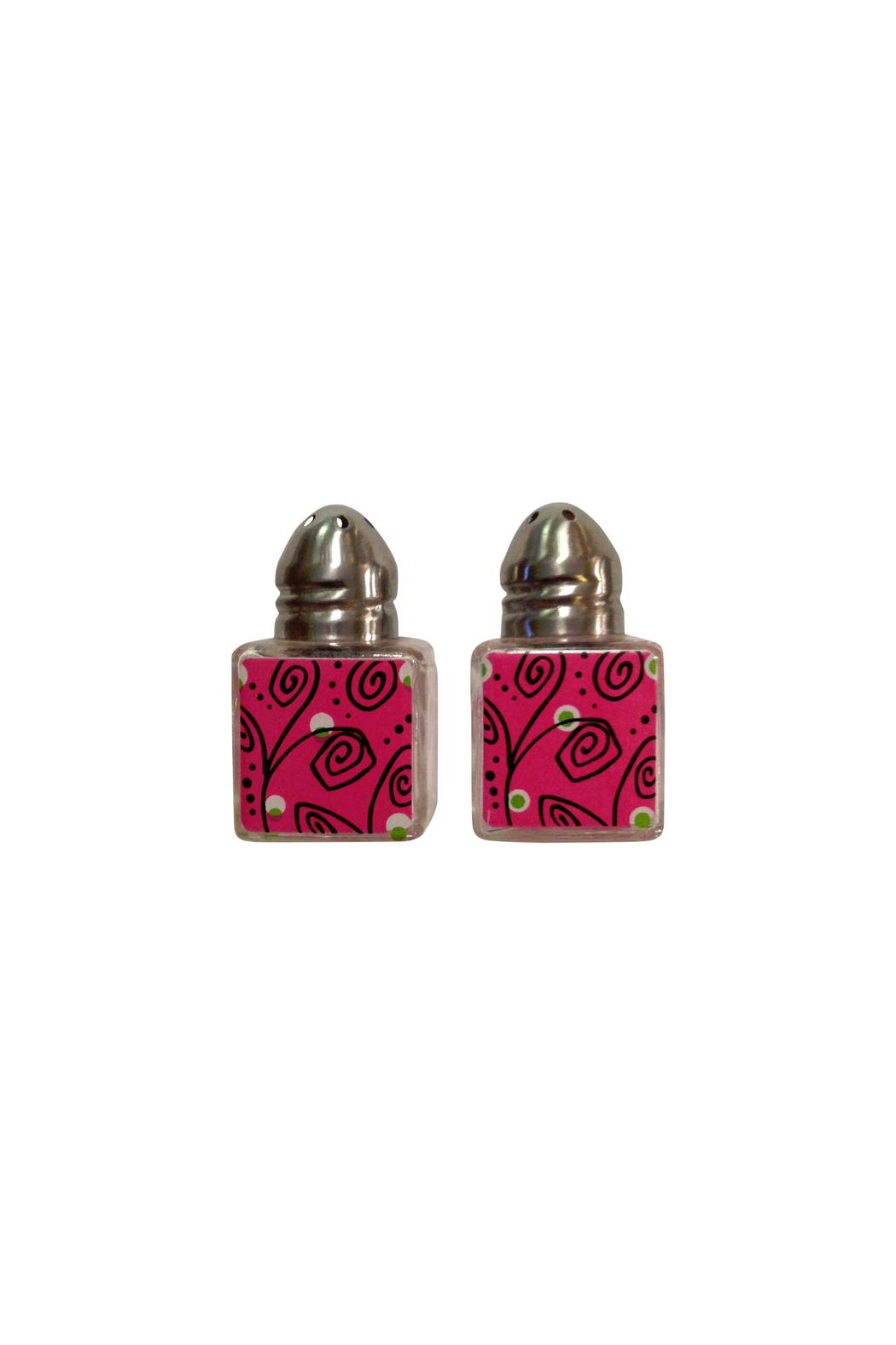 Ganz Pink Salt/ Pepper Shaker - Main Image