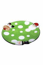 Ganz Polka-Dot Snack Plate - Product Mini Image