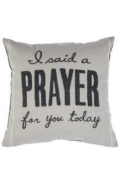 Shoptiques Product: Prayed Pillow