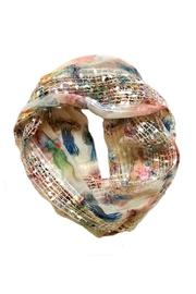 Ganz Print Infinity Scarf - Product Mini Image