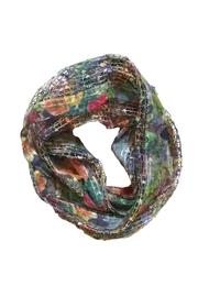 Ganz Print Infinity Scarf - Front cropped