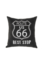 Ganz Route US Pillow - Front cropped