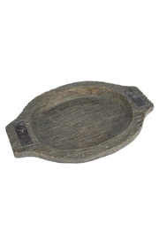 Ganz Rustic Oval Tray - Product Mini Image