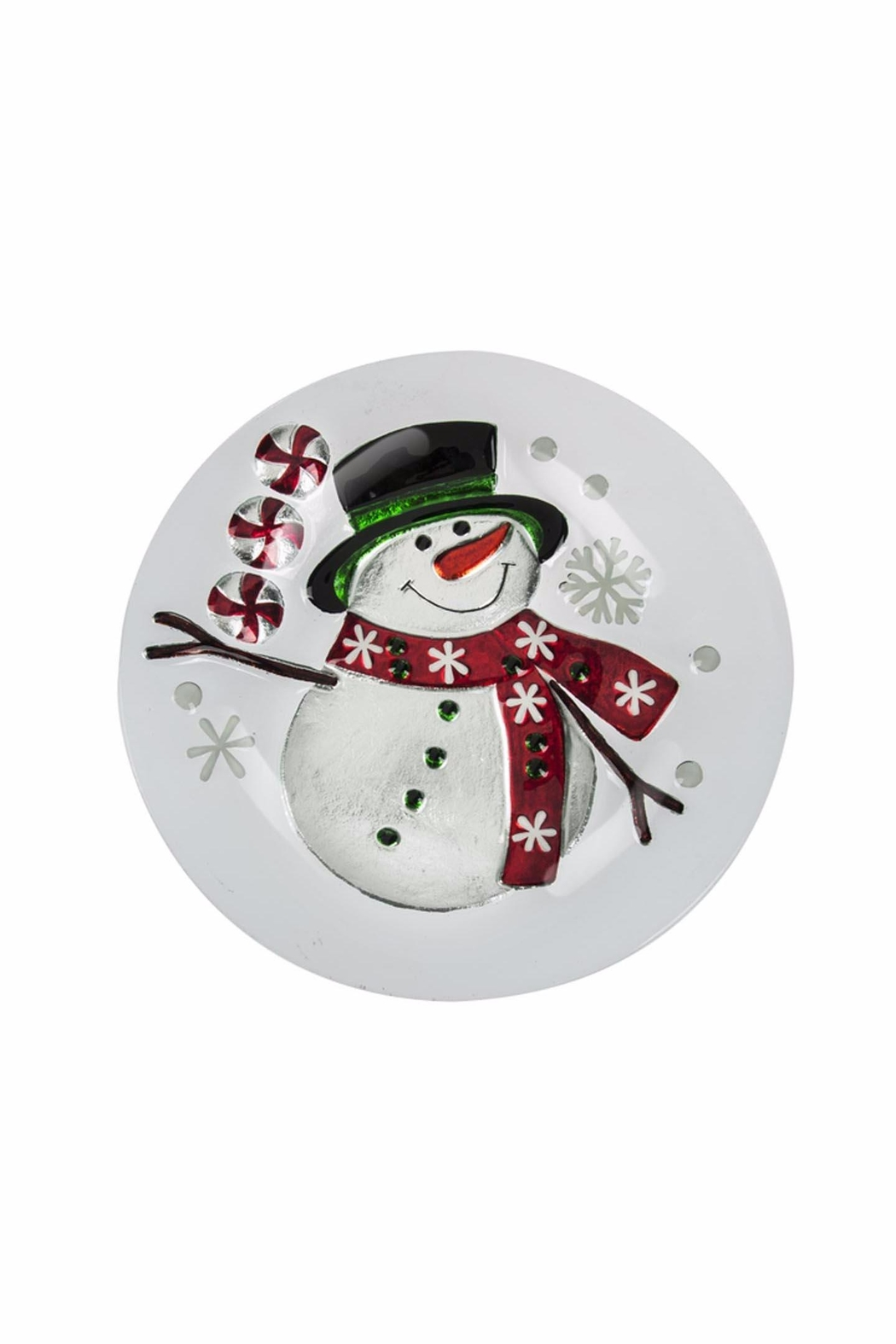 Ganz Snowman Platter - Front Cropped Image