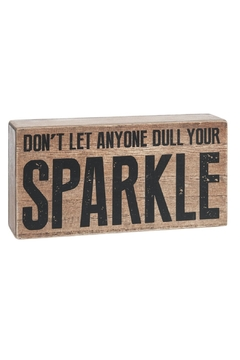 Shoptiques Product: Sparkle Box Sign