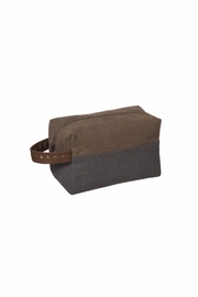 Ganz Travel Case Gray/brown - Front cropped