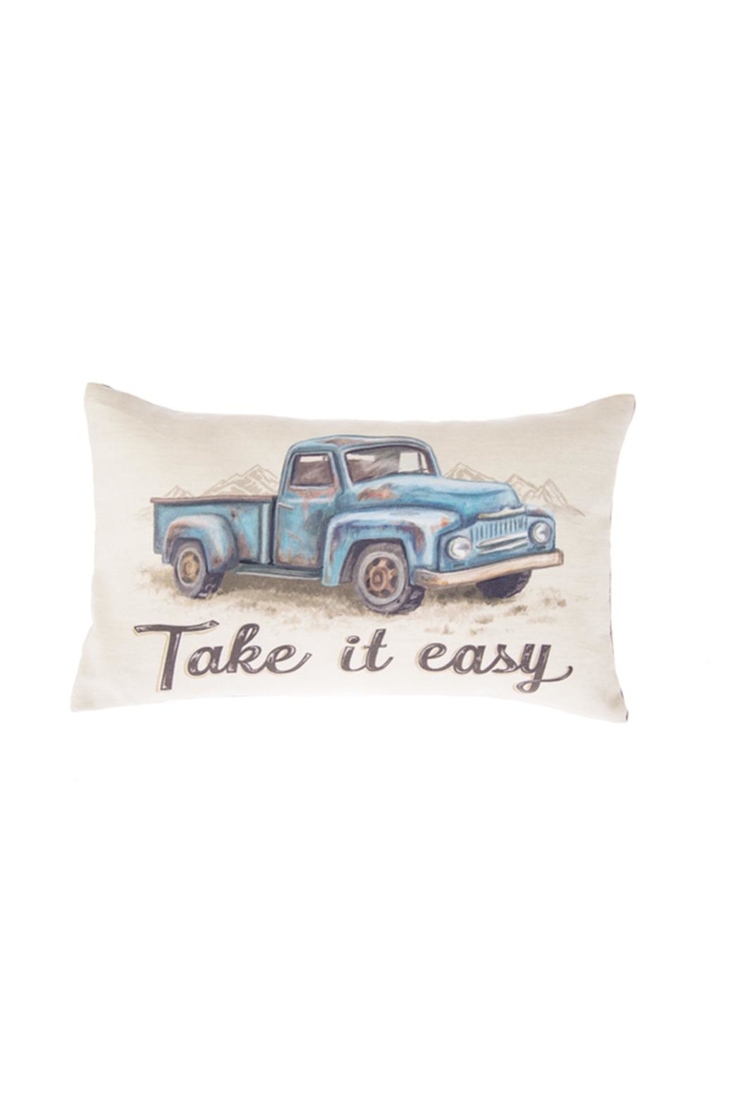 Ganz Truck Easy Pillow - Front Cropped Image