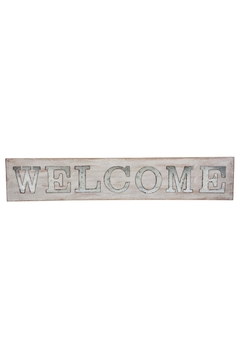 Shoptiques Product: Wood Welcome Sign