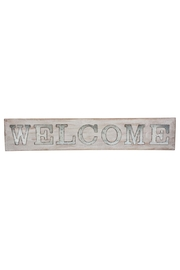 Ganz Wood Welcome Sign - Product Mini Image