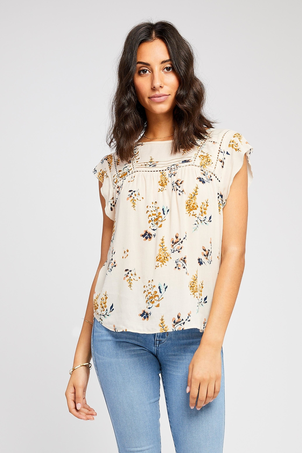 Gentle Fawn Garance Floral Top - Main Image