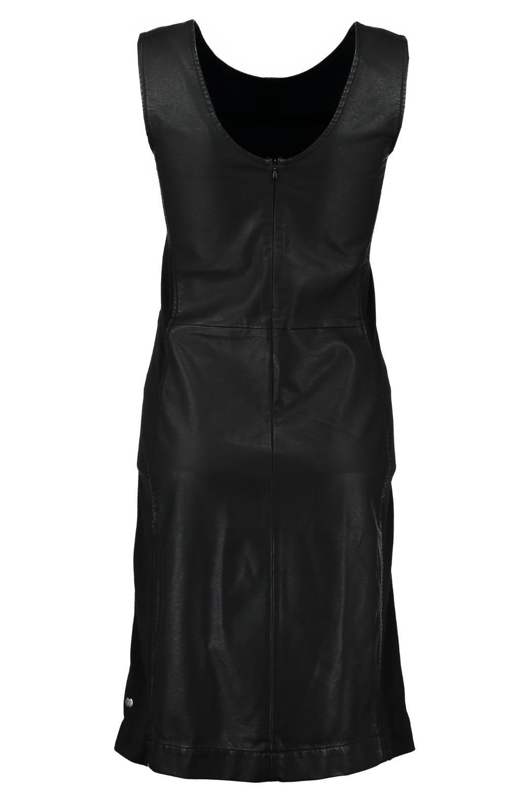 Garcia Jeans Pleather Dress - Side Cropped Image