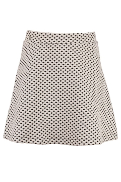 Garcia Jeans Short Diamond Print Skirt - Alternate List Image