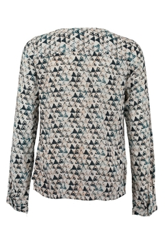 Garcia Jeans Woven Triangle Print Top - Alternate List Image