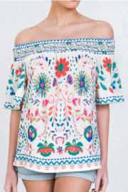 Flying Tomato Garden Affair Top - Front cropped
