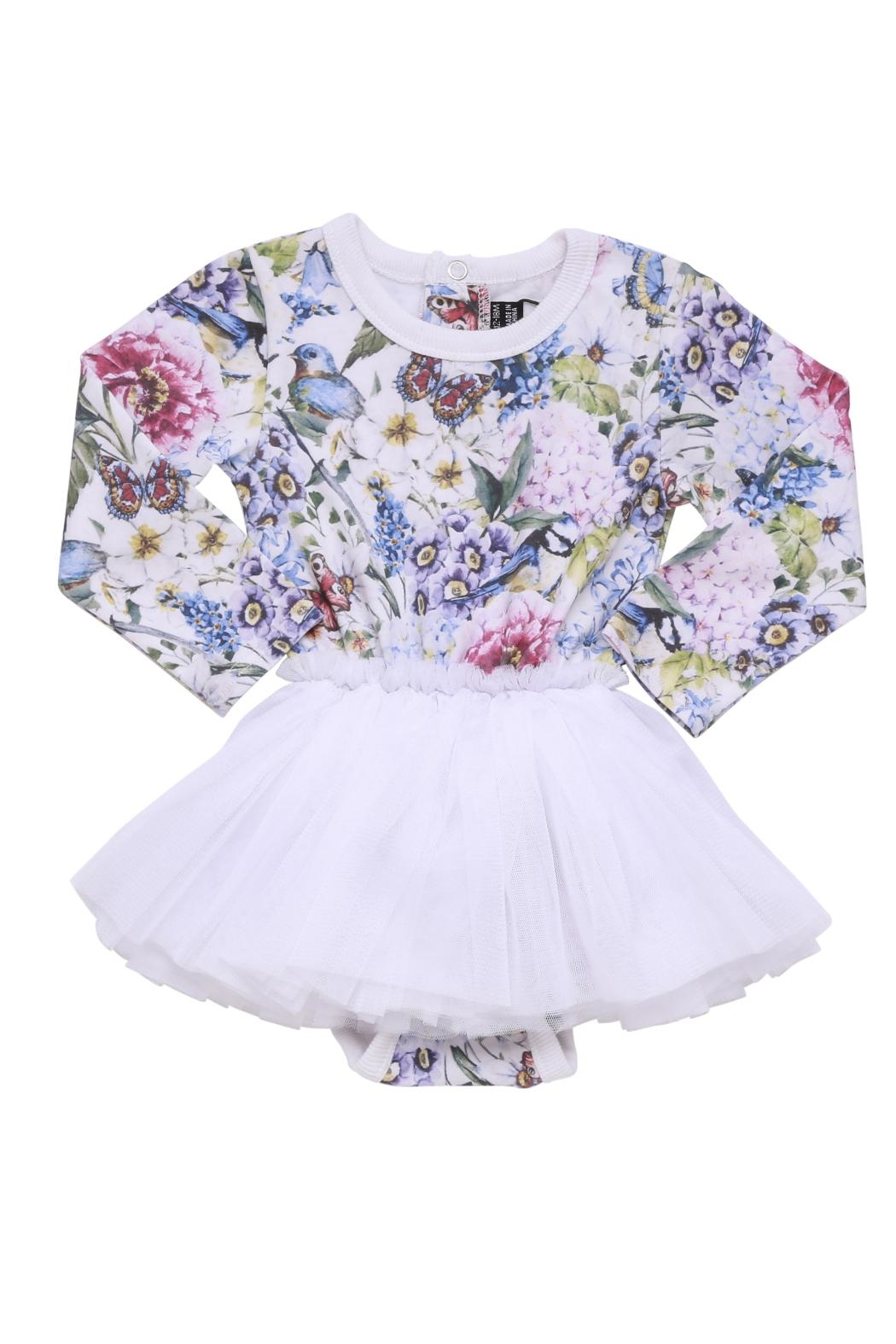 Rock Your Baby Garden Baby Dress - Front Cropped Image