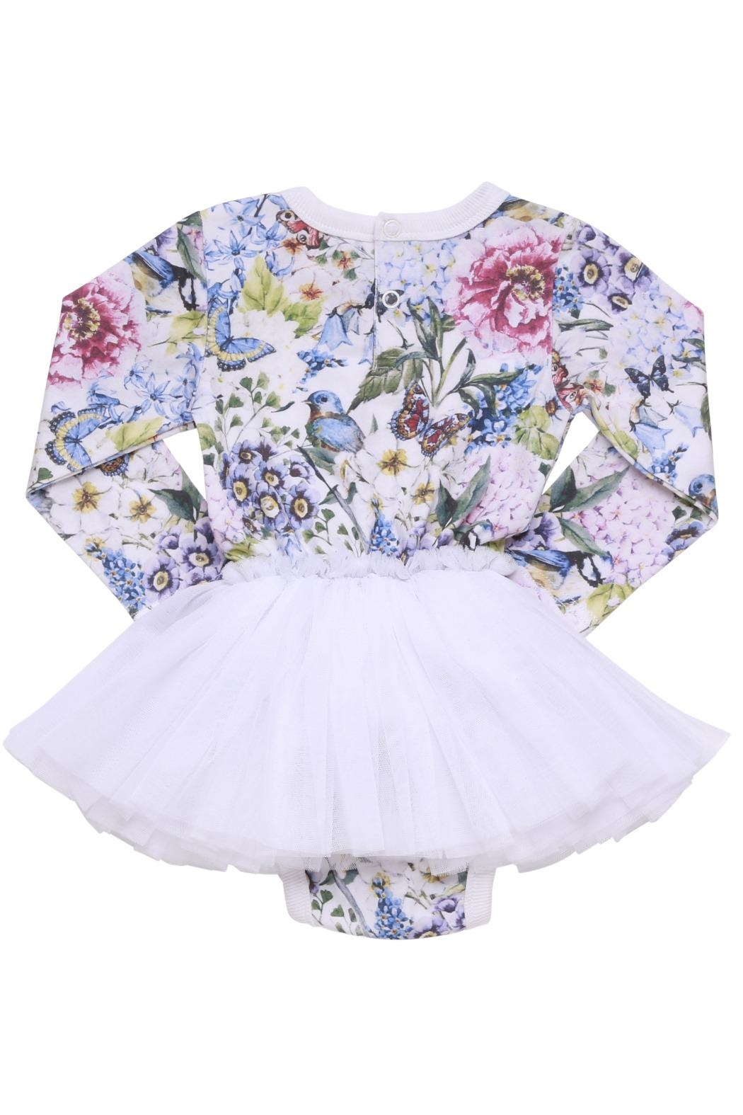 Rock Your Baby Garden Baby Dress - Front Full Image