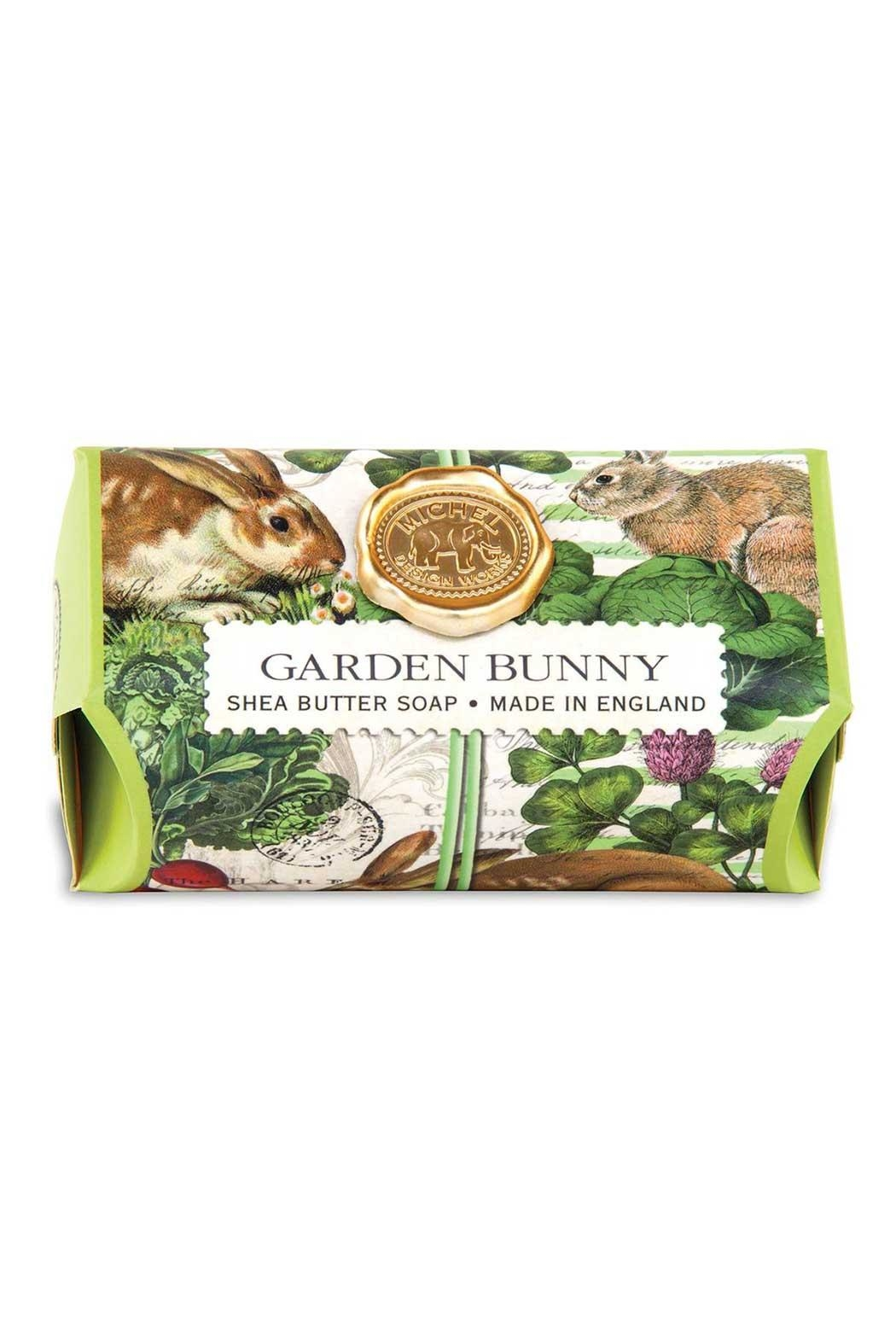 Michel Design Works Garden Bunny Soap - Front Cropped Image