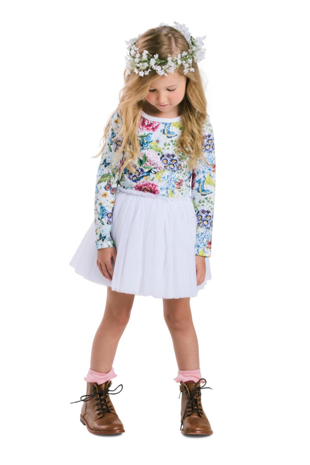 Rock Your Baby Garden Circus Dress - Front Cropped Image