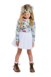 Rock Your Baby Garden Circus Dress - Front cropped