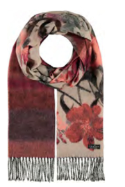 V. Fraas Garden Floral Scarf - Product Mini Image