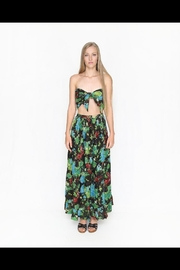 Fox In Gown Garden Floral Skirt - Front cropped