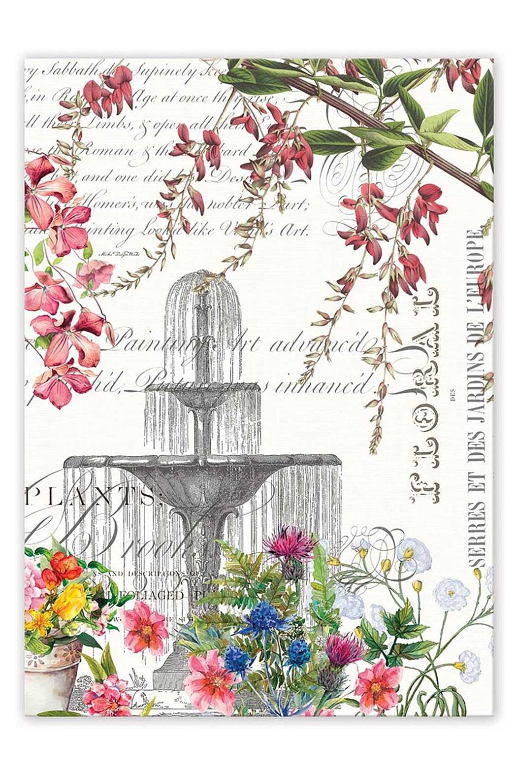 Michel Design Works Garden Kitchen Towel   Front Cropped Image
