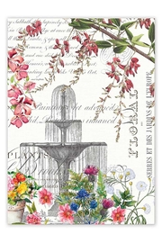 Michel Design Works Garden Kitchen Towel - Front cropped