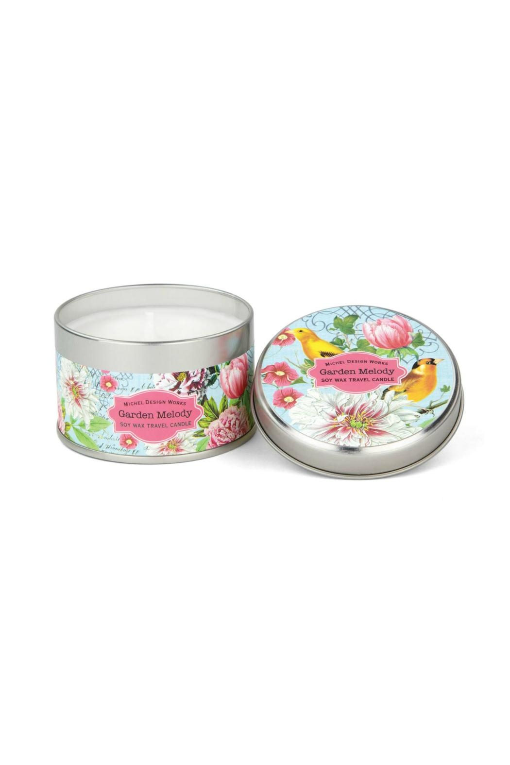 Michel Design Works Garden/melody Travel Candle - Main Image