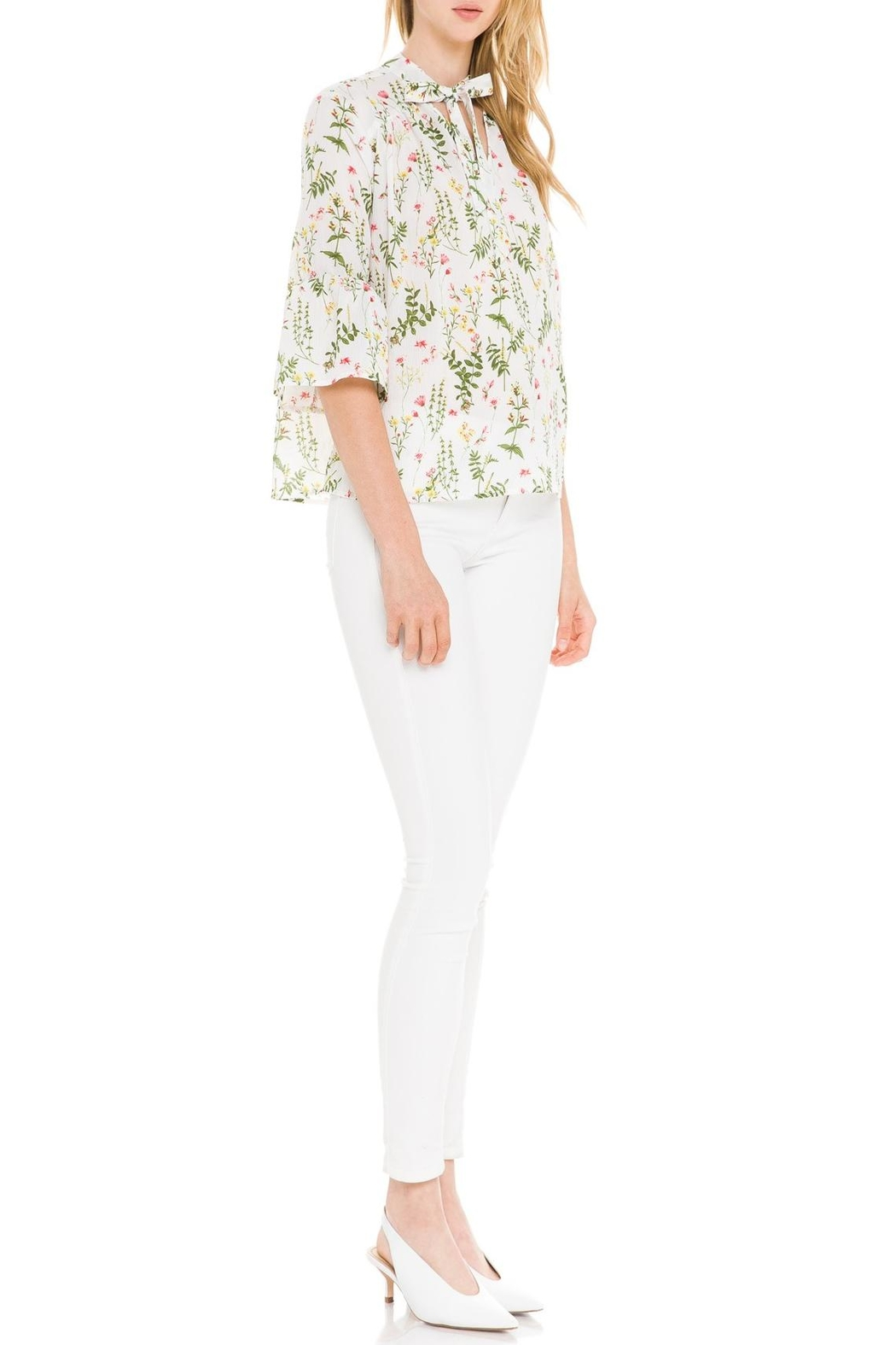 After Market Garden Party Blouse - Side Cropped Image