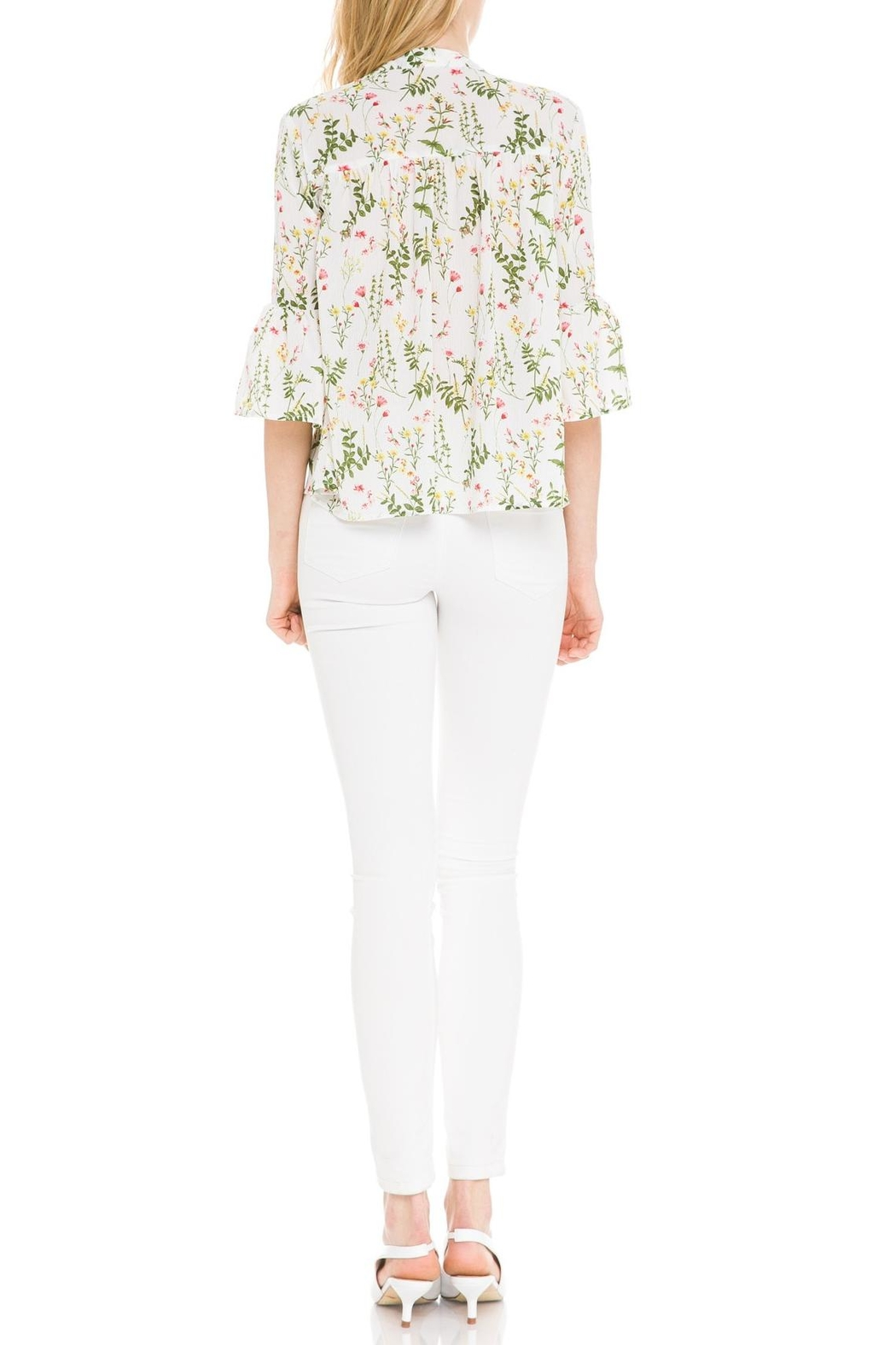 After Market Garden Party Blouse - Back Cropped Image