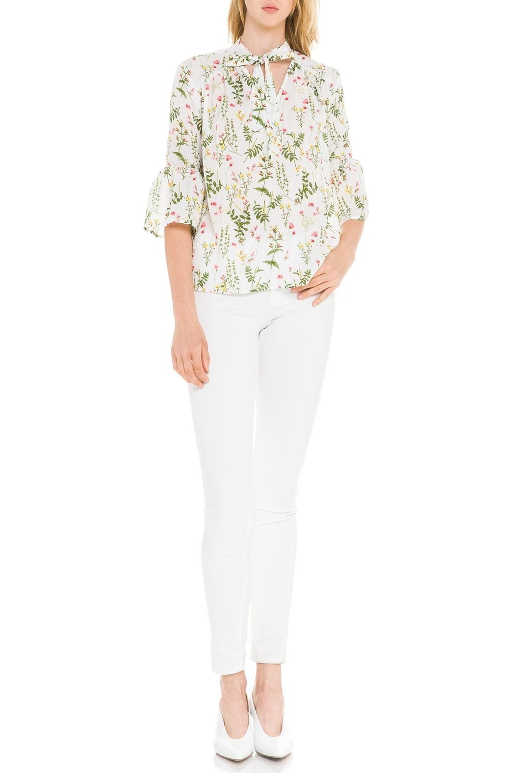After Market Garden Party Blouse - Front Full Image