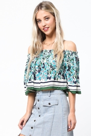 LoveRiche Garden Party Top - Front cropped